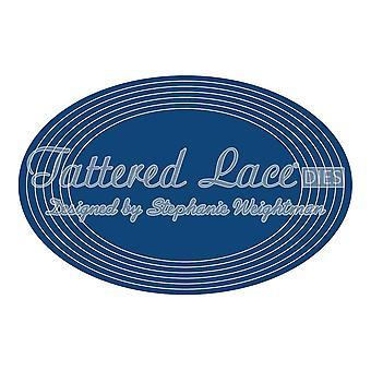 GROTE sterven van Tattered lace essentials ingesteld cirkels, vierkanten, ovalen of rechthoek prijs per pak