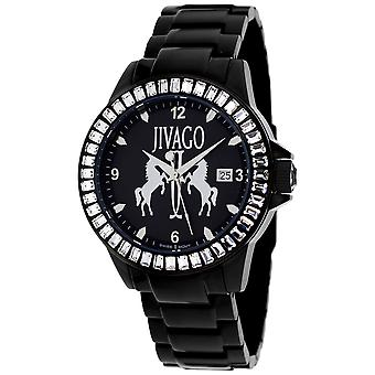 Jivago Women's Folie Black Dial Watch - JV4210