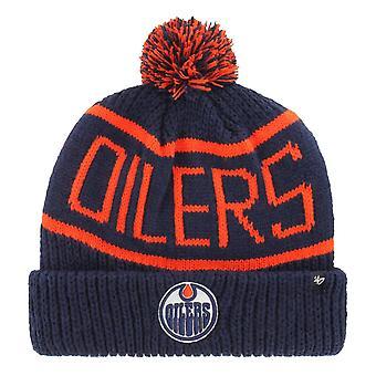 47 Brand Knit Winter Hat - CALGARY Edmonton Oilers