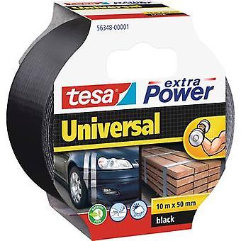 tesa 56348-01-05 Klud tape tesa® ekstra Power Black (L x W) 10 m x 50 mm 1 stk(r)