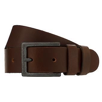 Teal Belt Men's Belt Leather Belt Jeans Belt Brown 8265