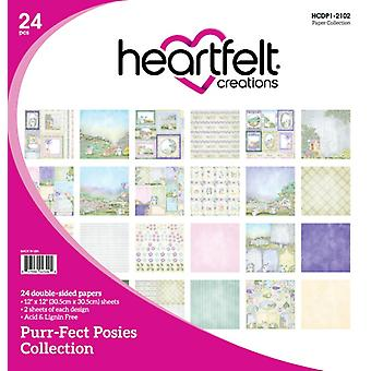 Heartfelt Creations Double-Sided Paper Pad 12
