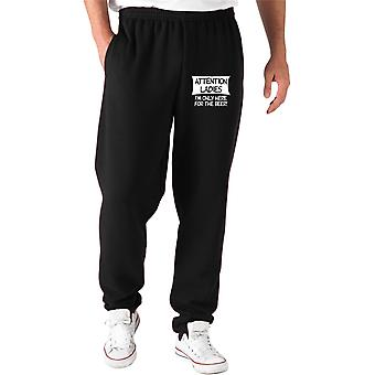 Pantaloni tuta nero fun3073 attention ladies