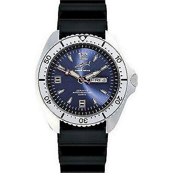 Chris Benz watch diver watch one CBO-B-KB-SI