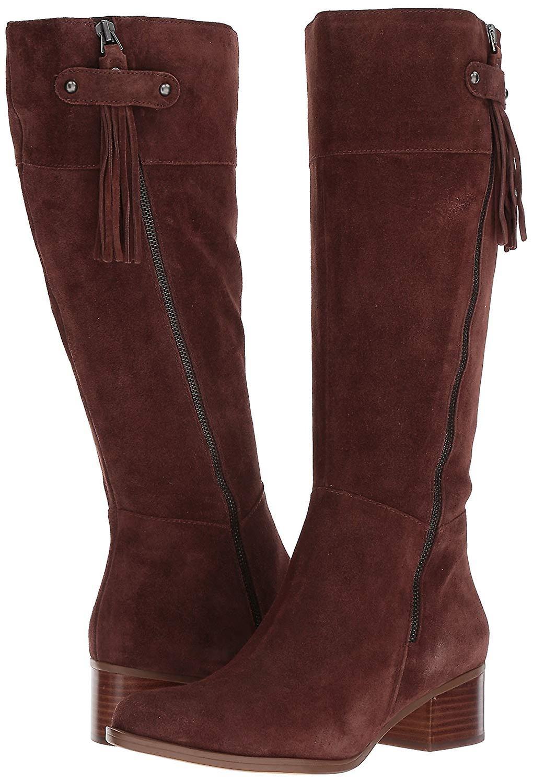 Naturalizer kvinners demi lukket tå kne høy mote støvler
