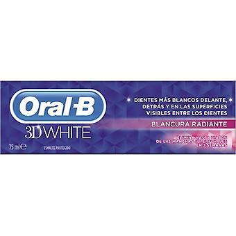 Oral B valkoinen 3D säteilevän valkoinen hammastahna 75 ml