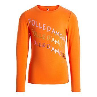 Name-It Mädchen-t-Shirt NKFNICLA Mandarin Orange
