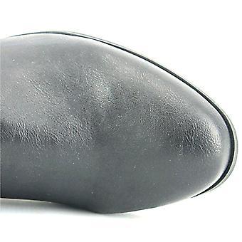 スタイル ・株式レディース Faee 閉鎖つま先ふくらはぎファッション ブーツ、ブラック