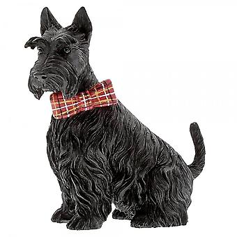 Border Fine Arts platteland Couture Jack Scottie hond beeldje