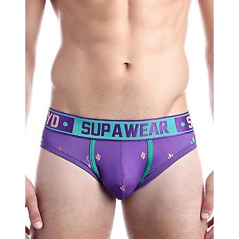 Supawear Prickly Purple Sprint-Cacti Letter Purple