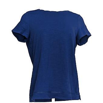 C. Wonder Women's Top Essentials Slub Knit T-shirt Blue A289698