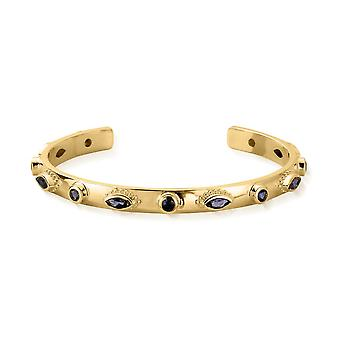 ChloBo Gold & Iolite Cosmic Connection Bangle