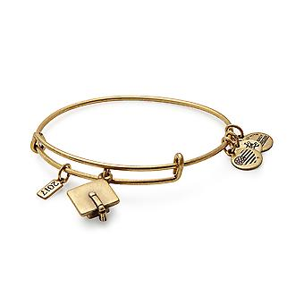 Alex and Ani Graduation Cap 2017 Rafaelian Gold Charm Bangle