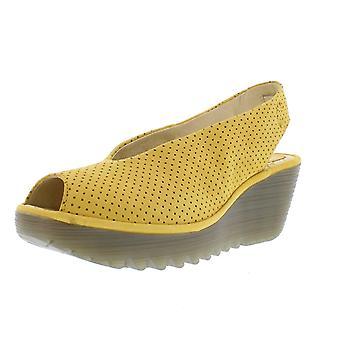 Fly London Yazu736 Peep Toe Slingback Shoe