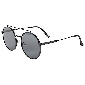 Jeepers Peepers High Bar Round Sunglasess - Black