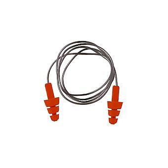 Portwest reutilizable con cable tpr tapón de oído ep04