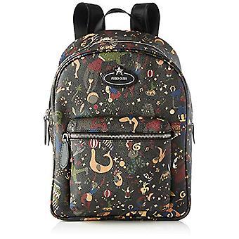 piero drives Back Pack Backpack Bag Women (Black) 255x32x15 cm (W x H x L)