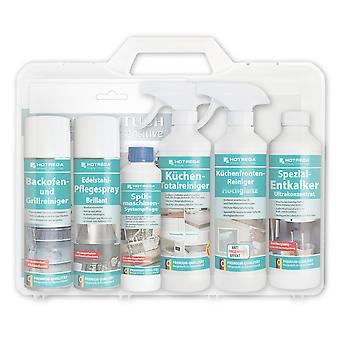 "HOTREGA® Kitchen Set Case ""High Gloss"", in Plastic Hard Shell Case"