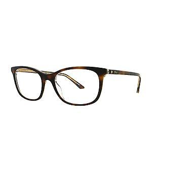 Dior Montaigne 18 G9Q Havana Crystal Glasses