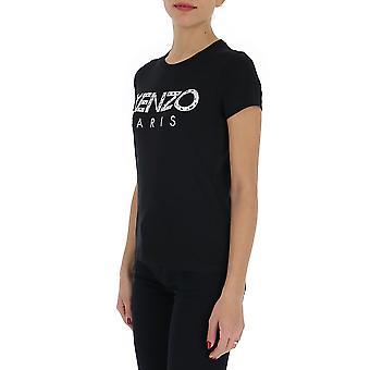 Kenzo Fa52ts70199099 Women's Black Cotton T-shirt