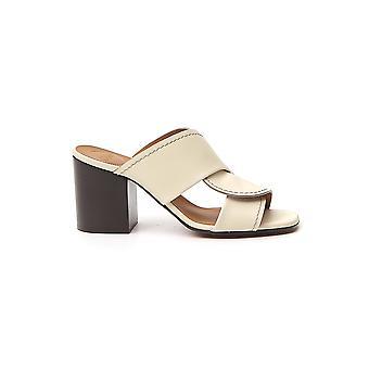 Chloé Chc20s27591739 Women's Yellow Leather Sandals