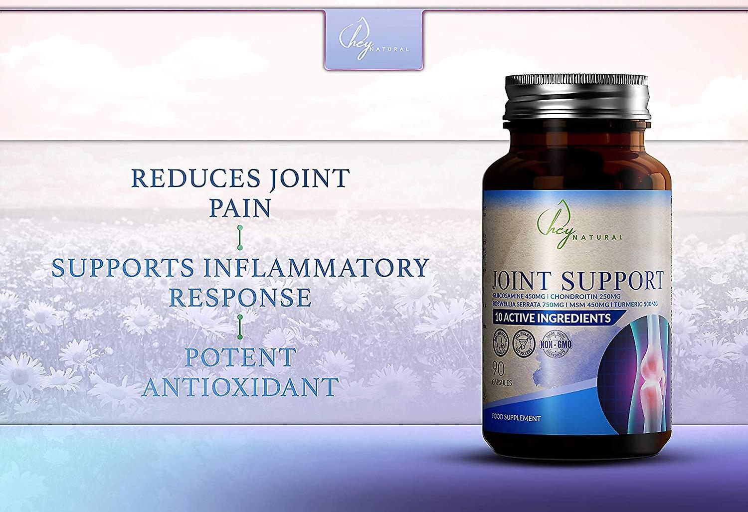 Hey Natural Joint Care Supplement Capsules