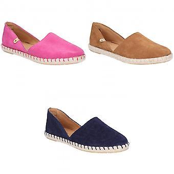 Hush cachorros Womens/señoras Rosie Espadrille Slip on zapatos de cuero