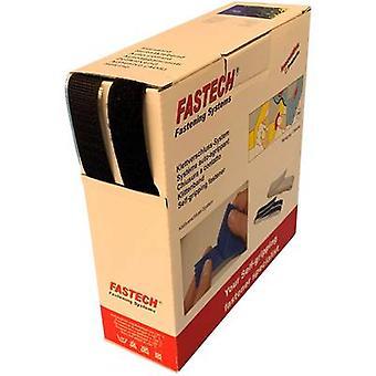 FASTECH® B20-MIX999910 Koukku- ja silmukkanauha ommellasilmukka kiinnityssilmukkalevy (L x W) 10 m x 20 mm Musta 10 m