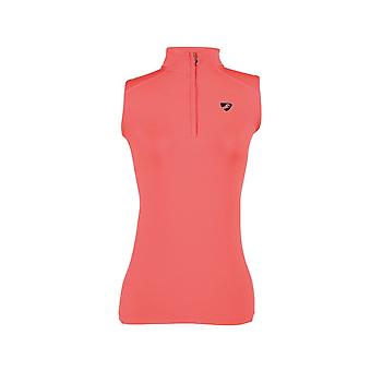 Shires Aubrion Westbourne Womens Mouwloze Baselayer - Coral