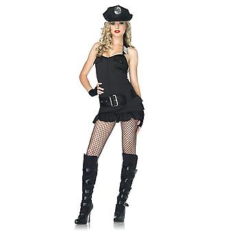 Söt Officer Kostym för kvinnor