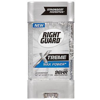 Right guard xtreme gel anti-transpirant, puissance maxi, 4 oz