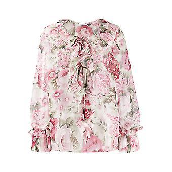P.a.r.o.s.h. D311234802 Women's Multicolor Polyester Blouse
