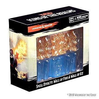 D&D Spell effekter Wall of fire & væg af Ice Board spil