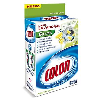 Liquid Detergent for Clothing Colon Cleaner Lemon Washing Machine 250 ml (Pack of 2)