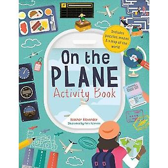 On The Plane Activity Book - Includes puzzles - mazes - dot-to-dots an