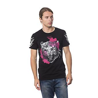 Roberto Cavalli Sport Black T-shirt -- RO69097072