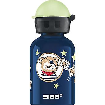 Sigg Alu Little Pirates Non-insulated Water Bottle (0.3L) -