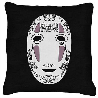 No Face Sugar Skull Studio Ghibli Spirited Away Cushion