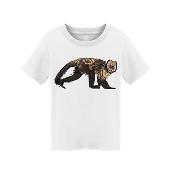 Golden-Bellied Capuchin, Walking Tee Toddler's -Image by Shutterstock