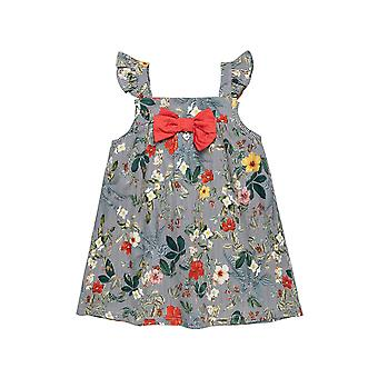 Alouette Girls' Floral Dress With Pattern