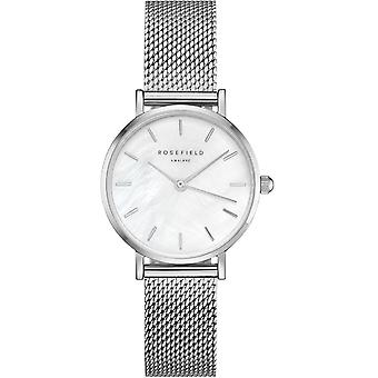 Rosefield small edit Quartz Analog Woman Watch with 26WS-266 Stainless Steel Bracelet
