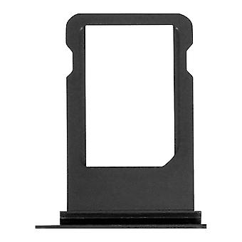 Nano-SIM card tray replacement part for Apple iPhone 8 - Black