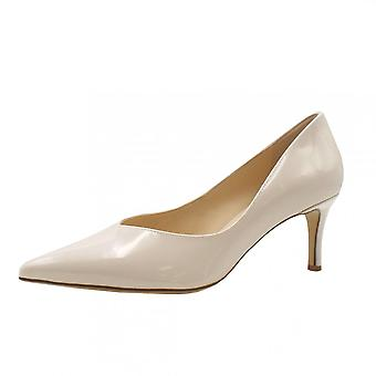 Högl 9-10 6124 Soul Stylish Pointed Toe Court Shoes In Rose Patent