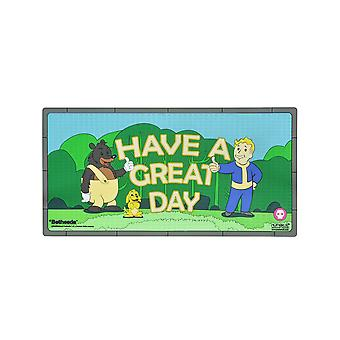 Official Fallout 'Have a Great Day' Rubber Door Mat / Floor Mat