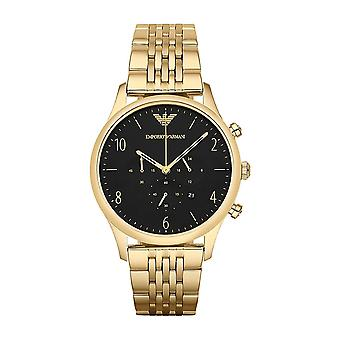 Emporio Armani AR1893 Men's Gold Plated Watch - Gold