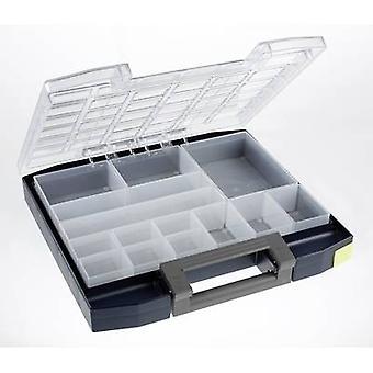 raaco Boxxser 55 6x6-14 Assortment case (W x H x D) 354 x 55 x 323 mm No. of compartments: 14 1 pc(s)
