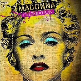 Madonna viering nieuwe officiële elke gelegenheid wenskaart