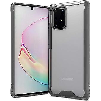 Mobile Hülle für Samsung Galaxy A91/M80S/S10 Lite - transparent, schwarz