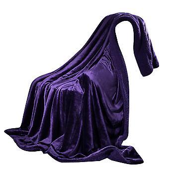 YANGFAN Large-Width Cashmere Double Layer Blanket