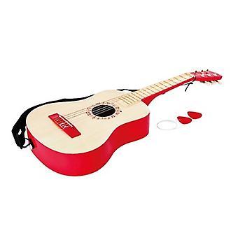 鮮やかな赤いギター HAP E0325